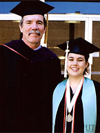 Dr. Mark Helper and Sarah Pierson, B.S. '06.